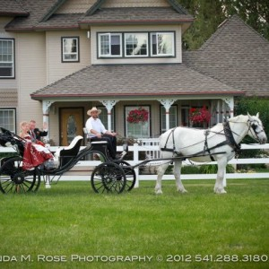 Cowboy Carriage - Horse Drawn Carriage / Wedding Services in Bend, Oregon