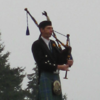 Cradle to the Grave - Bagpiper in Portland, Oregon