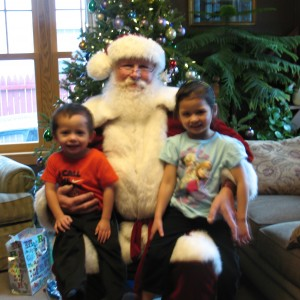 Craig Rueden - Santa Claus in Appleton, Wisconsin