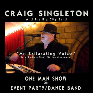 Craig Singleton - Cover Band / College Entertainment in Tampa, Florida