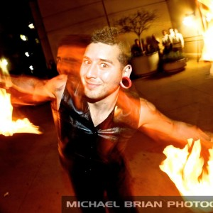 Crazy Boy Coy - Fire Performer / Balancing Act in Kansas City, Missouri