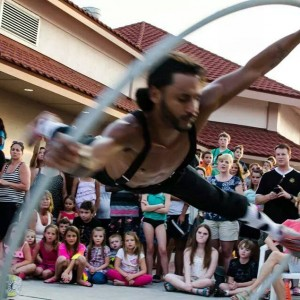 Crazy Indy - Acrobat in Tampa, Florida