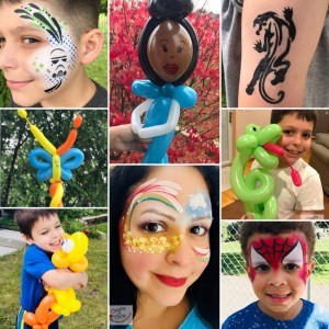 Create-A-Face:Face Painting & More - Face Painter / Balloon Twister in Crystal Lake, Illinois