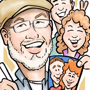 Createdbydavid - Caricaturist / Wedding Entertainment in Oklahoma City, Oklahoma