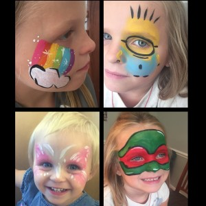 Creative faces - Face Painter / Tea Party in Williamsville, New York