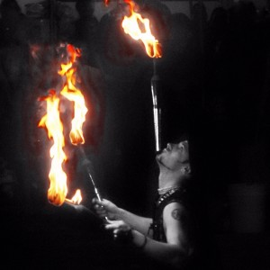 Creative Flame - Fire Dance Cirque & Variety - Interactive Performer / Halloween Party Entertainment in Wilmington, North Carolina