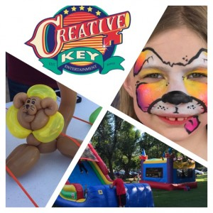 Creative Key Face Painters - Face Painter / Party Inflatables in Oklahoma City, Oklahoma