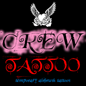 Crew Tattoo (Temporary Airbrush Tattoos) - Airbrush Artist in Colorado Springs, Colorado