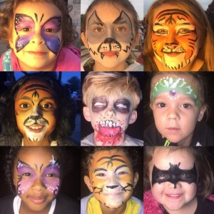 Crockett Creative Services - Face Painter / Halloween Party Entertainment in Little Rock, Arkansas