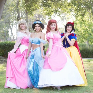 Crowned Princess Parties - Children's Party Entertainment in Los Alamitos, California