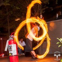 Cubensi - Fire Performer in Dallas, Texas