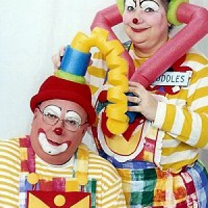 Cuddles and Billy the Clowns