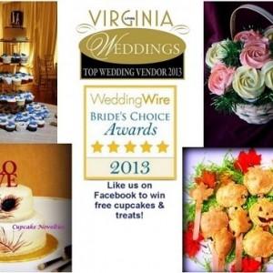 Cupcake Novelties - Wedding Cake Designer in Fairfax, Virginia