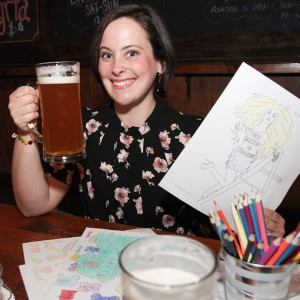 Curious Custom Coloring Club Events - Corporate Entertainment / Caricaturist in New York City, New York