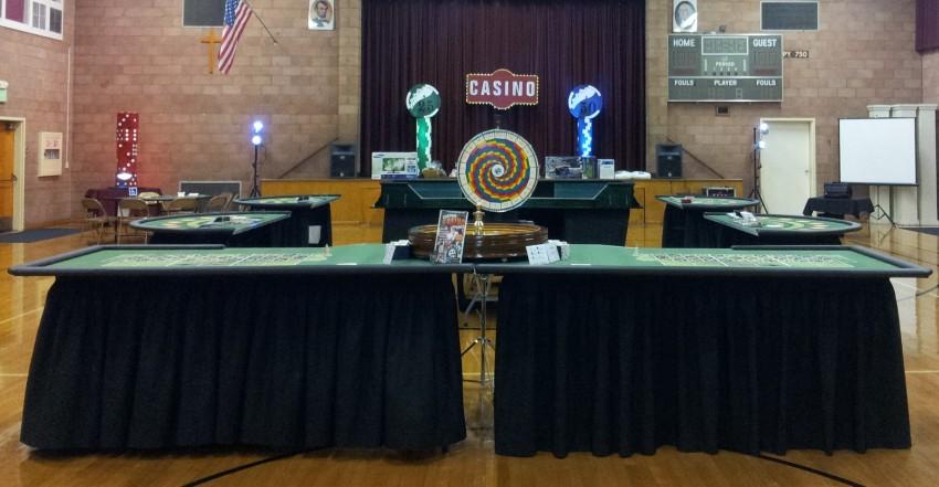 Modesto casino parties