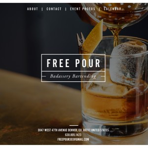 Custom Cocktail Catering - Bartender in Denver, Colorado