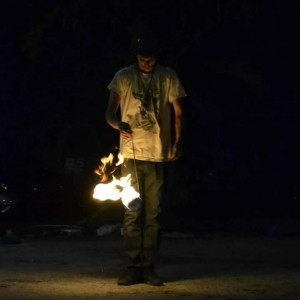 Cymatic Vibrations - Fire Dancer / Dancer in Ocala, Florida