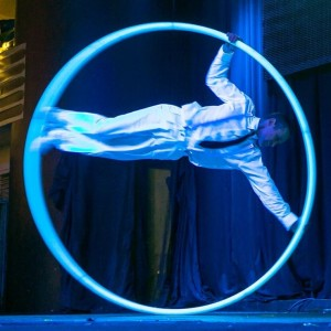 Cyr Wheel Performer