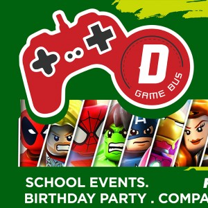 D Game Bus - Mobile Game Activities / Outdoor Party Entertainment in Brownsville, Texas