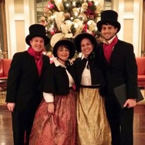 Dallas Christmas Carolers - Christmas Carolers / A Cappella Singing Group in Dallas, Texas