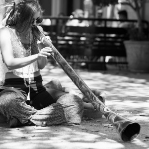 Stillness in Motion - Didgeridoo Player / Dancer in Sacramento, California