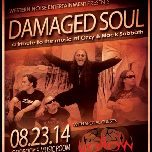 Damaged Soul: Tribute to Ozzy & Black Sabbath - Black Sabbath Tribute Band / Ozzy Osbourne Impersonator in Dayton, Ohio