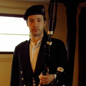 Dan Houghton - Bagpiper in East Arlington, Vermont