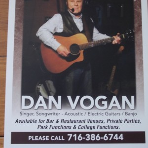 Dan Vogan - Guitarist in Bemus Point, New York