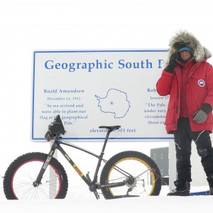 Daniel Burton - South Pole Cyclist
