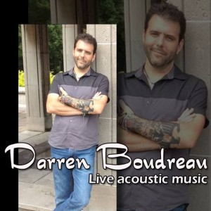 Darren Boudreau - Singing Guitarist / Wedding Musicians in Brantford, Ontario