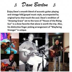 Dave Barton - Singing Guitarist / Guitarist in Lynchburg, Virginia