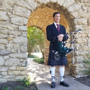 David B. Park - Bagpiper in Dallas, Texas