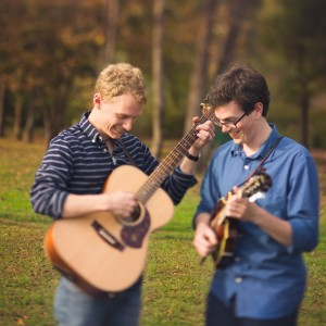 David Benedict and Michael Moore - Acoustic Band in Chattanooga, Tennessee
