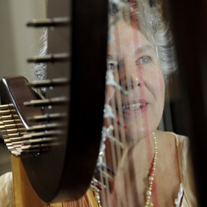 De Luna - Harpist / Tea Party in Hooksett, New Hampshire