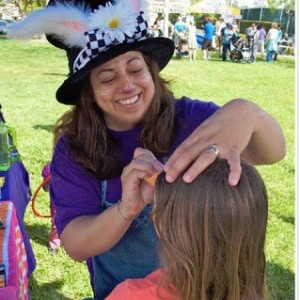 """Debi's Doodles"" Face Painting - Face Painter / Outdoor Party Entertainment in San Diego, California"