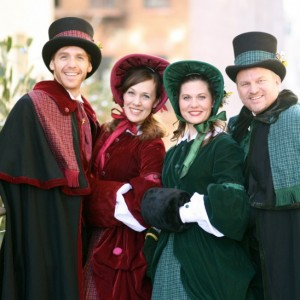 Manhattan Holiday Carolers - Christmas Carolers / Strolling Table in New York City, New York