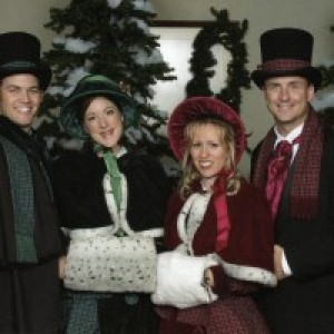 Definitely Dickens Holiday Carolers LA - Christmas Carolers / A Cappella Singing Group in Los Angeles, California