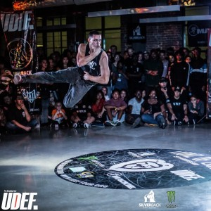 Defying Gravity Performance - Break Dancer in Miami, Florida