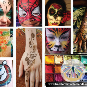 Transformation Face and Body Art - Face Painter / Henna Tattoo Artist in Asheville, North Carolina