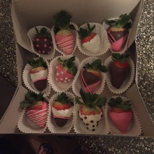 "Dessert ""chocolate covered strawberries"" - Candy & Dessert Buffet / Caterer in Arlington, Texas"