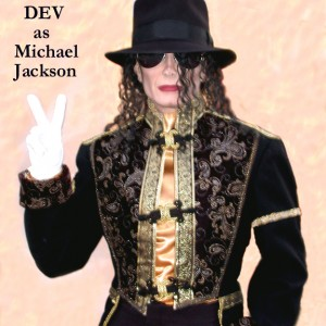 DEV as Michael Jackson