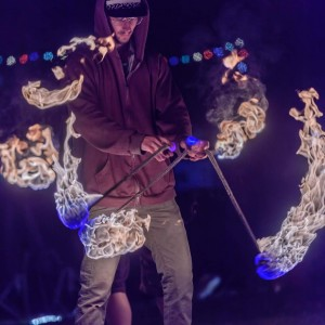 Dew Bee Manipulations - Fire Performer / Outdoor Party Entertainment in Sacramento, California