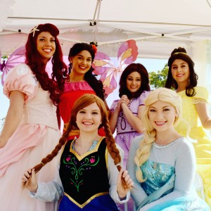 Diamond Princess Parties - Princess Party / Face Painter in San Diego, California