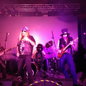 Diamondback and IROCK ZEE 80's Tribute Band