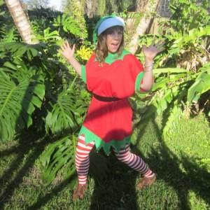 "Dimples the Elf ""Santa's Lil' Helper"" - Santa Claus in Friday Harbor, Washington"