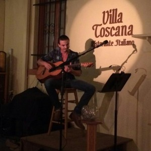 Dining Music - Classical Guitarist in San Diego, California