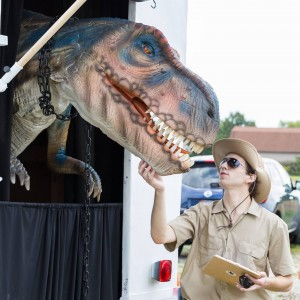 Dino in Ohio - Party Rentals / Animal Entertainment in Cleveland, Ohio