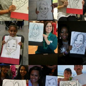 Dishi Henry - Caricaturist / Corporate Event Entertainment in Columbus, Ohio