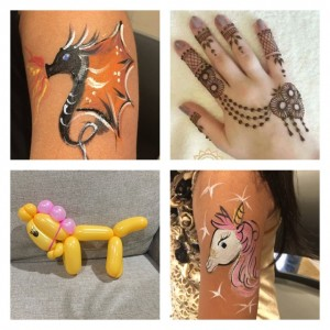 Divyas henna and face painting - Henna Tattoo Artist / College Entertainment in San Jose, California
