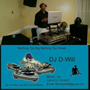 DJ D-Will - Mobile DJ / Outdoor Party Entertainment in Macon, Georgia